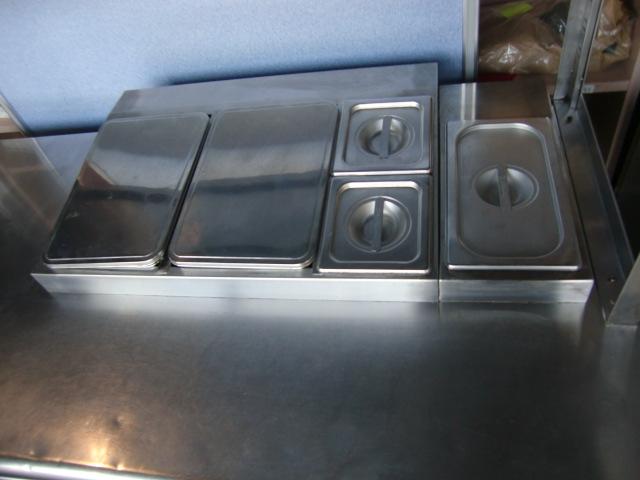フクシマ W1500サンドイッチコールドテーブル